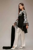 Mother of the bride pant suits black and white women outfit nmo-508
