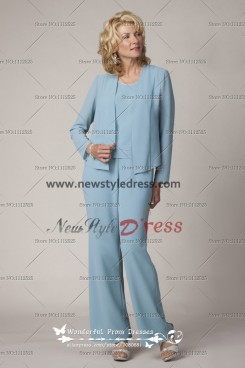Modern Three Sets Cheap Mother Of The Bride Pantsuit nmo-128