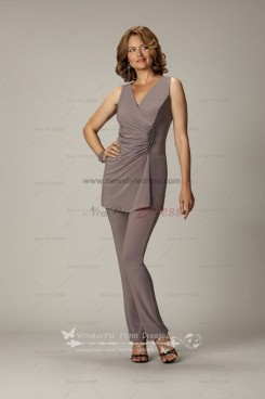 cheap Ankle-Length mother of the bride pants suits party nmo-031