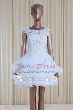 Fashion Princess Layered Homecoming Dress