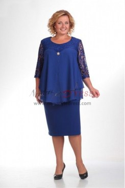 Good Comment Royal Blue Lace Mother Of The Bride Dresses nmo-370