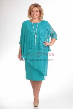 Hot Sale Jade Green Simple Mother Of The Bride Dresses nmo-373