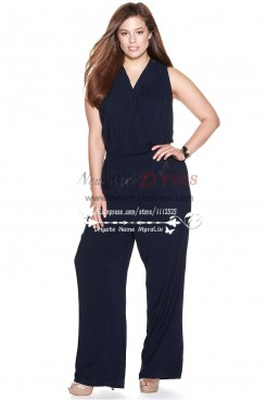 Modern V-Neck jumpsuits Women's Apparel for wedding nmo-166