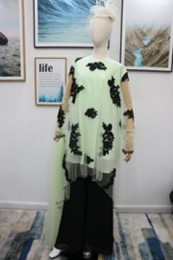 Mother of the bride pant suits dresses Sage nmo-610